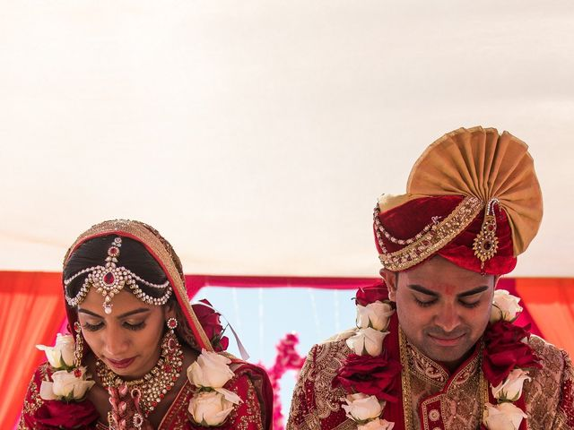 Rikesh and Pooja's Wedding in Cancun, Mexico 238