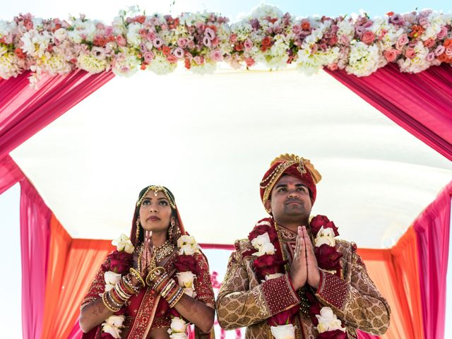 Rikesh and Pooja's Wedding in Cancun, Mexico 239