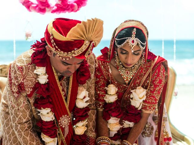Rikesh and Pooja's Wedding in Cancun, Mexico 243