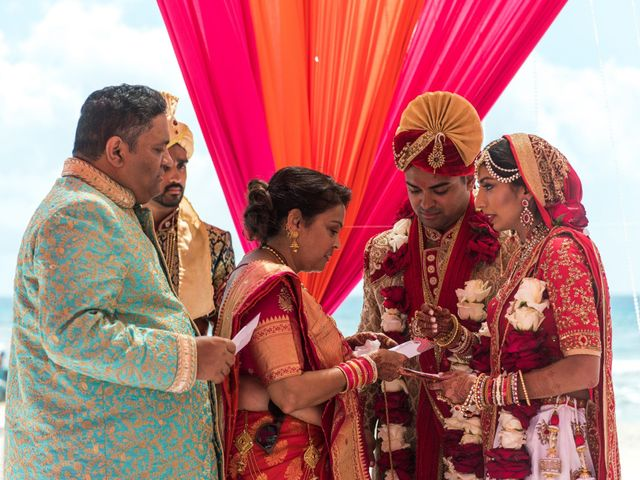 Rikesh and Pooja's Wedding in Cancun, Mexico 245