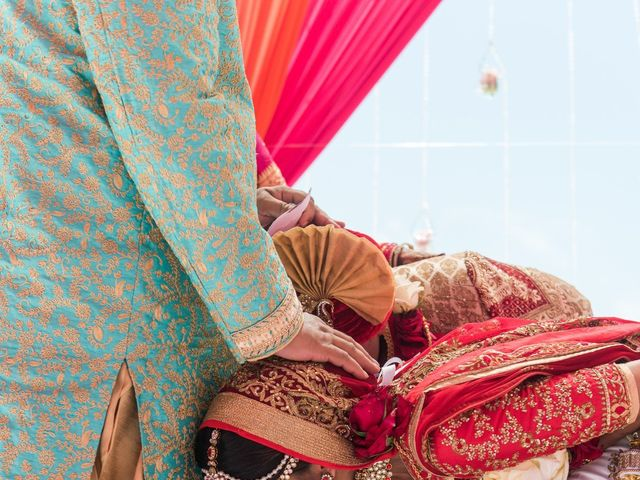 Rikesh and Pooja's Wedding in Cancun, Mexico 246