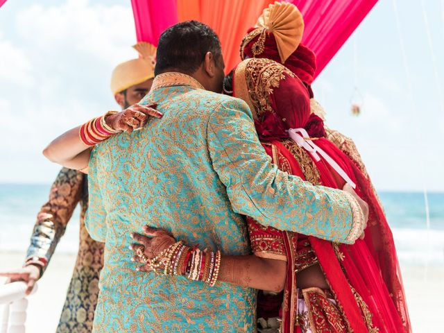 Rikesh and Pooja's Wedding in Cancun, Mexico 247