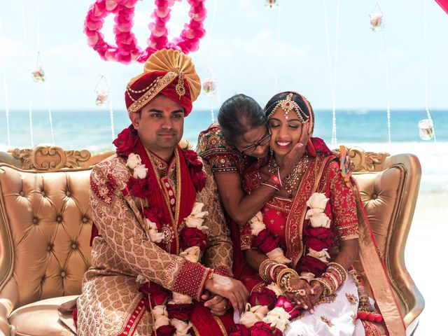 Rikesh and Pooja's Wedding in Cancun, Mexico 248