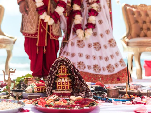Rikesh and Pooja's Wedding in Cancun, Mexico 249