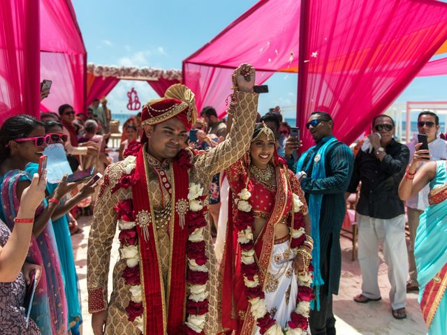 Rikesh and Pooja's Wedding in Cancun, Mexico 250