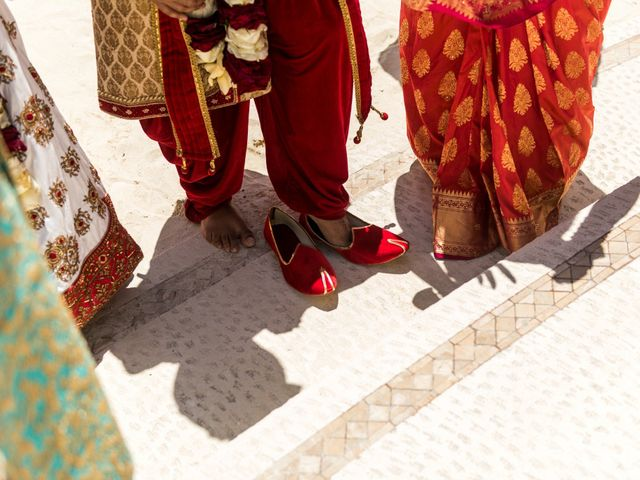 Rikesh and Pooja's Wedding in Cancun, Mexico 255