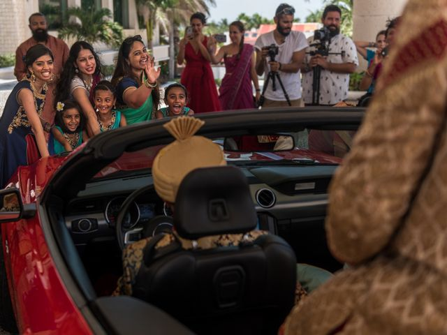 Rikesh and Pooja's Wedding in Cancun, Mexico 256