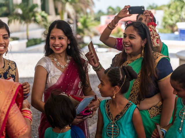 Rikesh and Pooja's Wedding in Cancun, Mexico 258