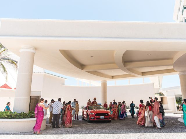 Rikesh and Pooja's Wedding in Cancun, Mexico 259