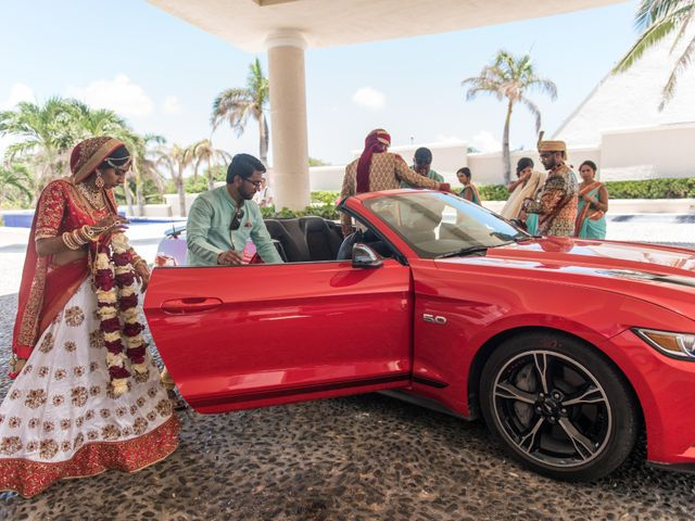 Rikesh and Pooja's Wedding in Cancun, Mexico 261