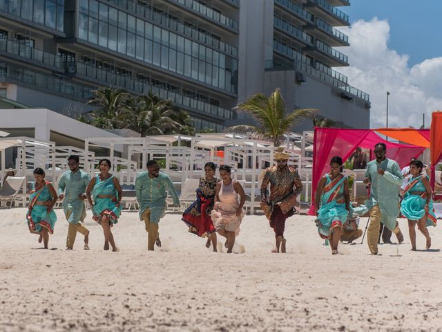 Rikesh and Pooja's Wedding in Cancun, Mexico 266