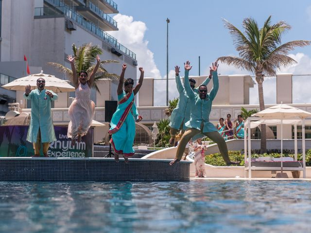 Rikesh and Pooja's Wedding in Cancun, Mexico 267