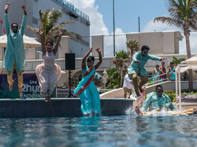 Rikesh and Pooja's Wedding in Cancun, Mexico 268