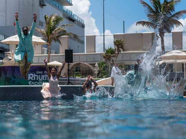 Rikesh and Pooja's Wedding in Cancun, Mexico 269