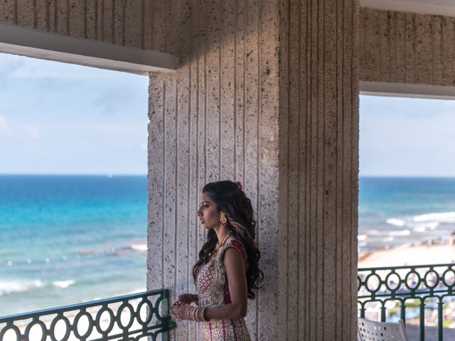 Rikesh and Pooja's Wedding in Cancun, Mexico 270