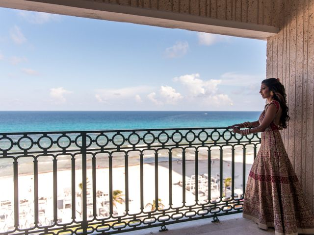Rikesh and Pooja's Wedding in Cancun, Mexico 272