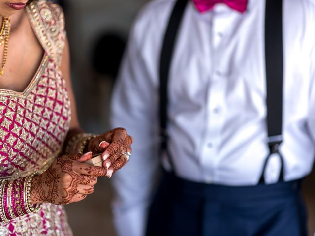Rikesh and Pooja's Wedding in Cancun, Mexico 276