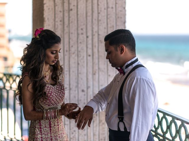 Rikesh and Pooja's Wedding in Cancun, Mexico 277