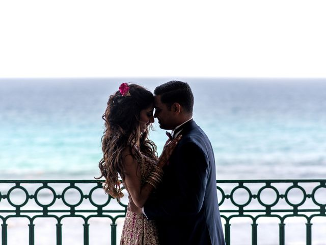 Rikesh and Pooja's Wedding in Cancun, Mexico 280