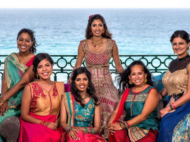 Rikesh and Pooja's Wedding in Cancun, Mexico 281