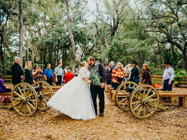 Kevin and Megan's Wedding in Thonotosassa, Florida 9