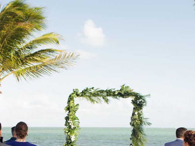 Rafael and Cindy's Wedding in Islamorada, Florida 7