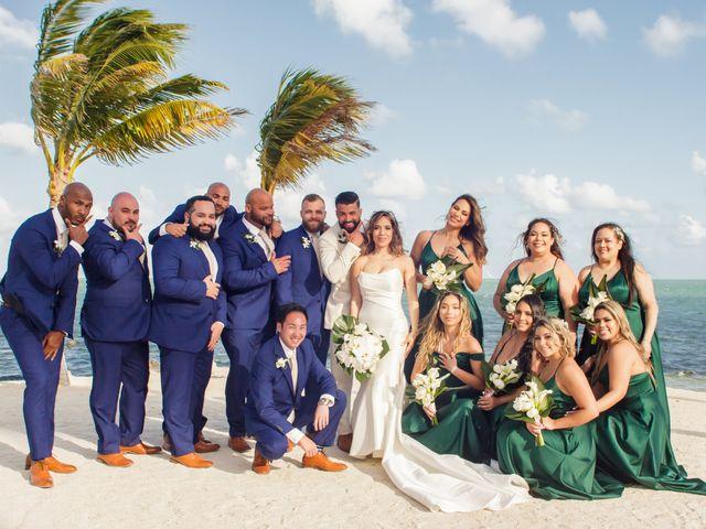 Rafael and Cindy's Wedding in Islamorada, Florida 32