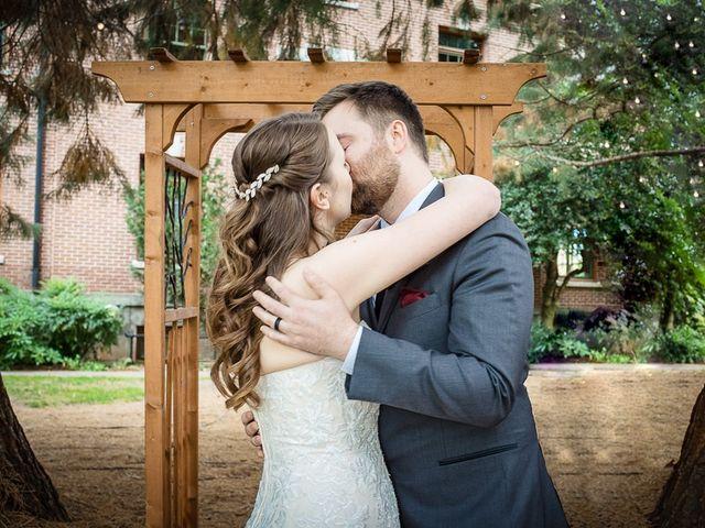 The wedding of Liz and Evan