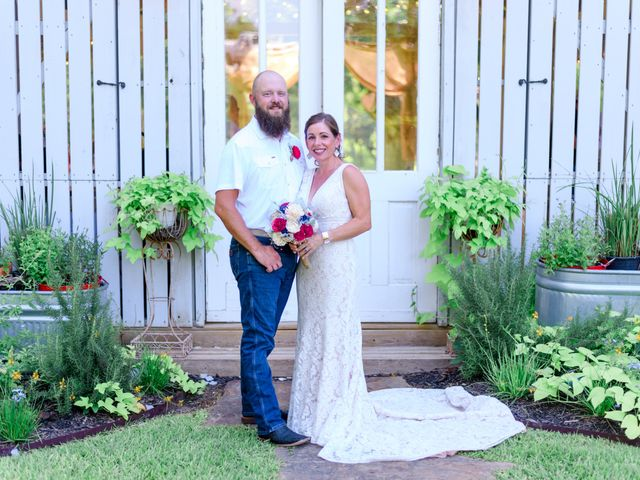 The wedding of Stephanie and Johnny