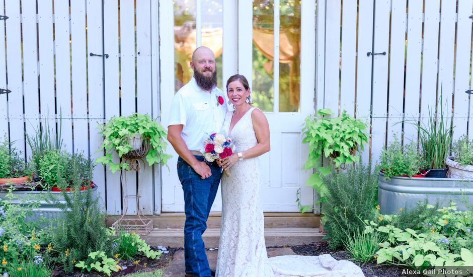 Johnny and Stephanie's Wedding in Seguin, Texas