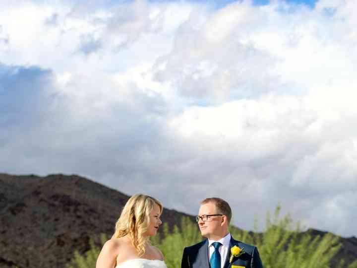 The wedding of Melissa and Seth