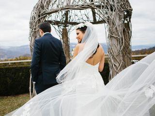 David and Julie's Wedding in Garrison, New York 11