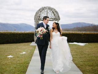 David and Julie's Wedding in Garrison, New York 13
