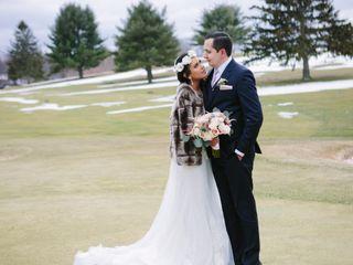 David and Julie's Wedding in Garrison, New York 15