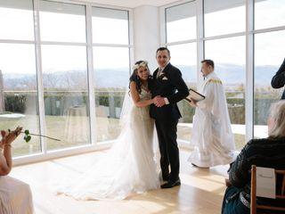 David and Julie's Wedding in Garrison, New York 17