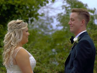 The wedding of Olivia and Ryan