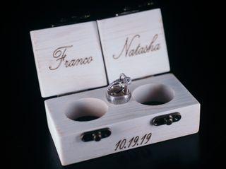 The wedding of Natasha and Franco 1