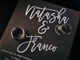 The wedding of Natasha and Franco 2