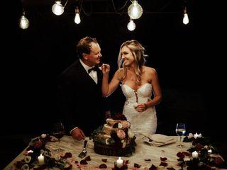 The wedding of Tia and Chris