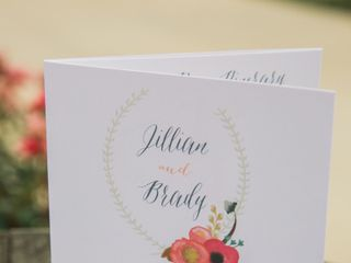 The wedding of Brady and Jillian 2