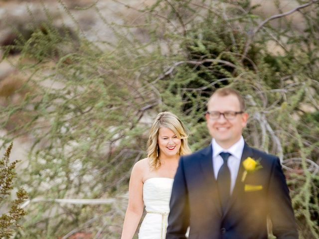 Seth and Melissa's Wedding in Palm Springs, California 7