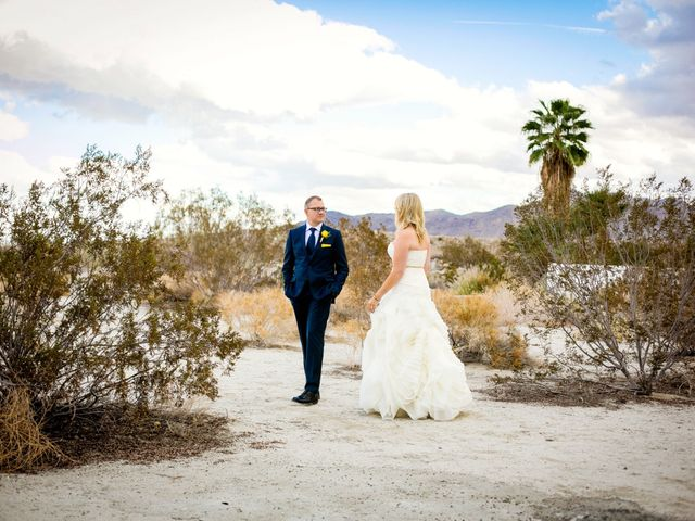Seth and Melissa's Wedding in Palm Springs, California 8