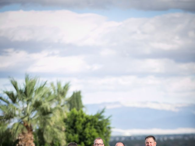 Seth and Melissa's Wedding in Palm Springs, California 12