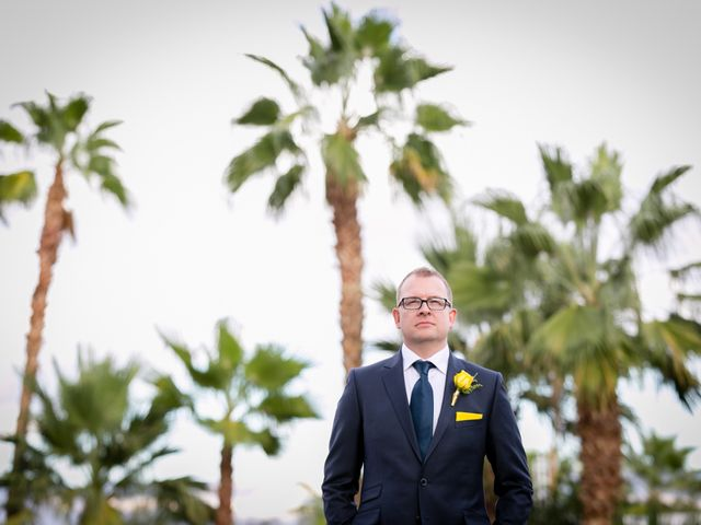 Seth and Melissa's Wedding in Palm Springs, California 13