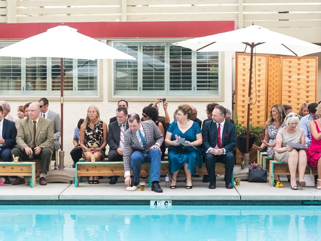 Seth and Melissa's Wedding in Palm Springs, California 24