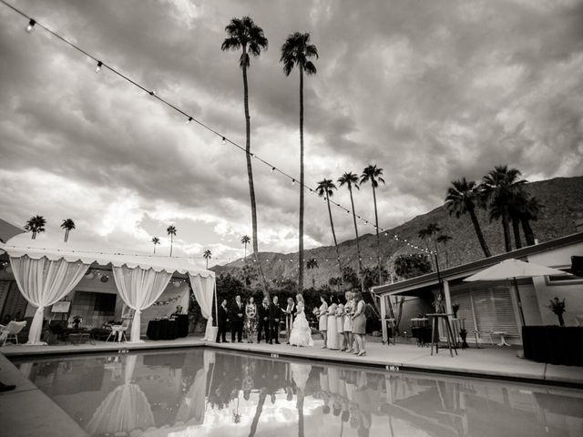 Seth and Melissa's Wedding in Palm Springs, California 26