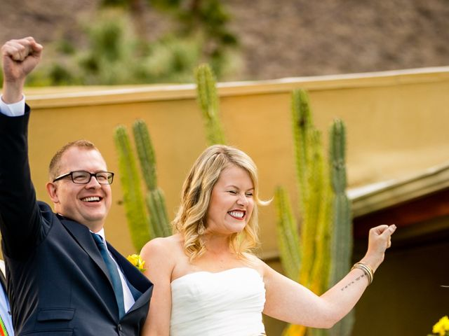 Seth and Melissa's Wedding in Palm Springs, California 29