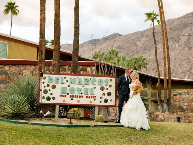 Seth and Melissa's Wedding in Palm Springs, California 35