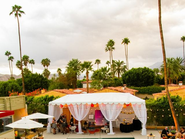 Seth and Melissa's Wedding in Palm Springs, California 41