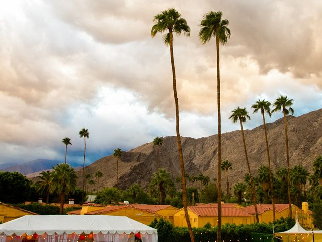 Seth and Melissa's Wedding in Palm Springs, California 42